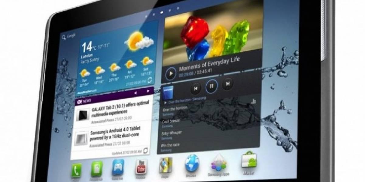 Samsung desmiente el cambio de procesador del Galaxy Tab 2 10.1