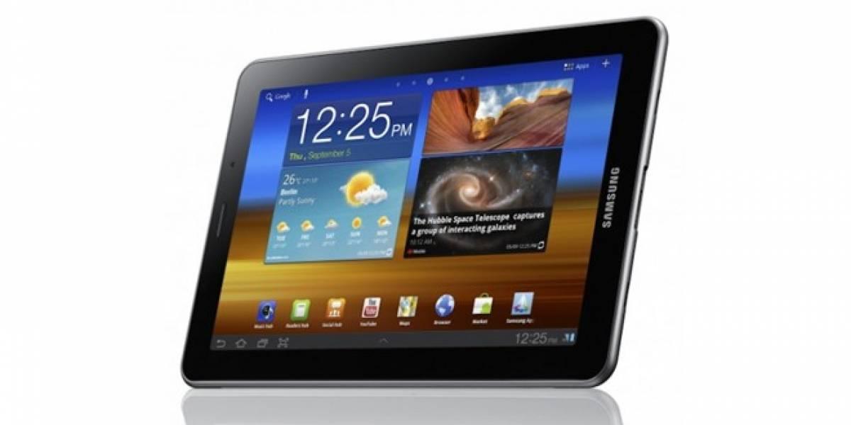 Samsung actualiza a la familia Galaxy Tab con Ice Cream Sandwich