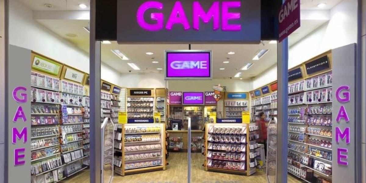 GameStop quiere comprar las tiendas GAME de España y Portugal