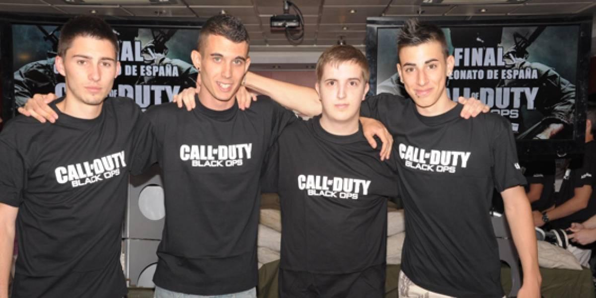 Estos son  los ganadores del torneo de Black Ops en España