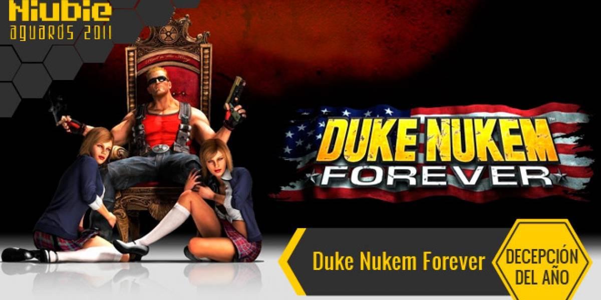 Decepción del Año [NB Aguards 11]: Duke Nukem Forever