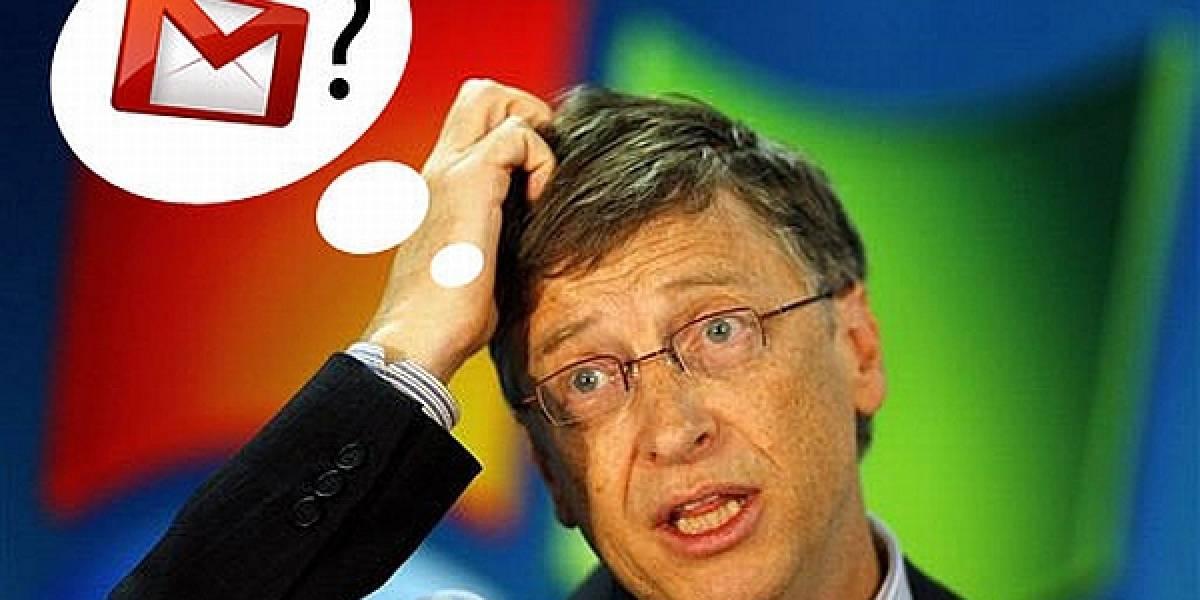 """Bill Gates """"no entendía"""" a Gmail cuando fue lanzado"""