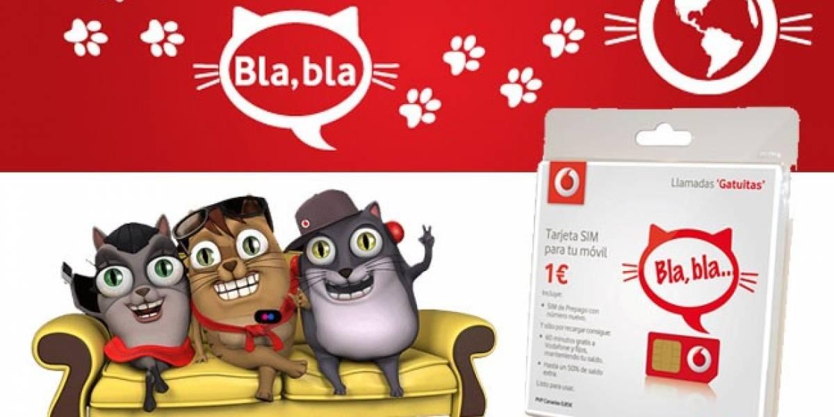 Vodafone venderá SIM prepago vía SMS en España