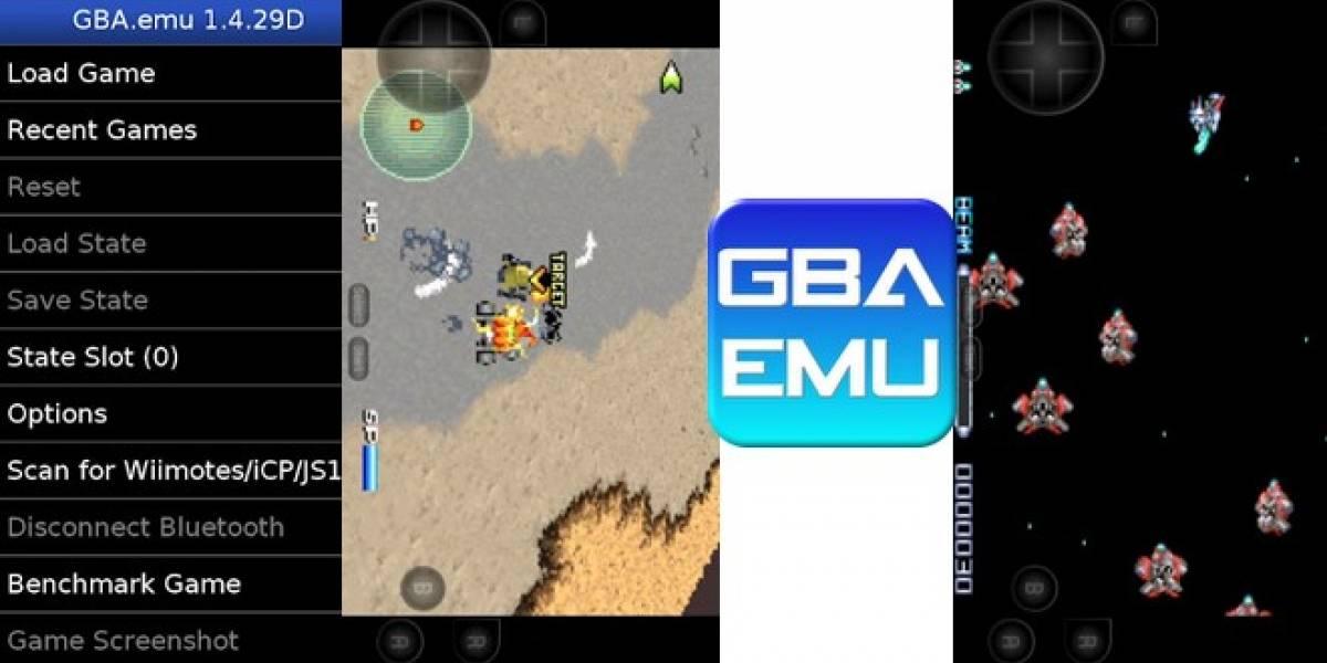 GBA EMU es el nuevo emulador de Game Boy Advance para Android
