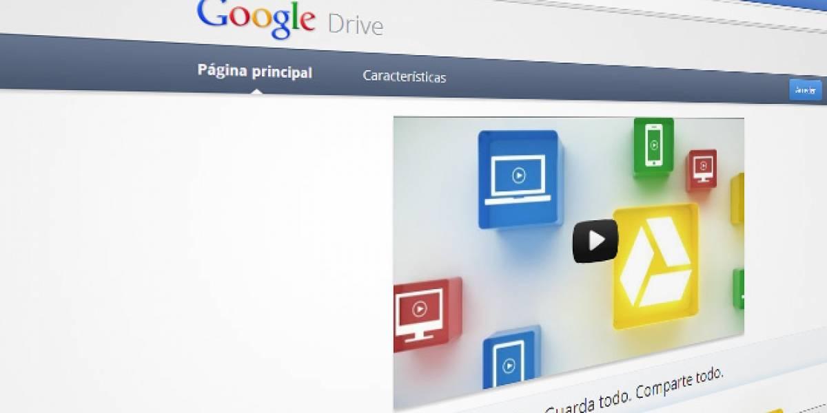 Google Drive ya está vivo