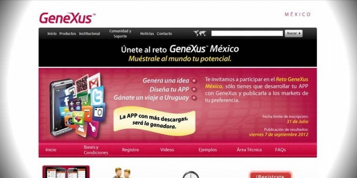México: Concurso de desarrollo Genexus