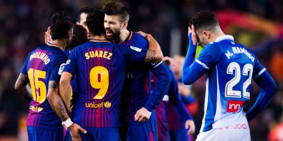 El Espanyol pide investigar a Gerard Piqué y Sergio Busquets