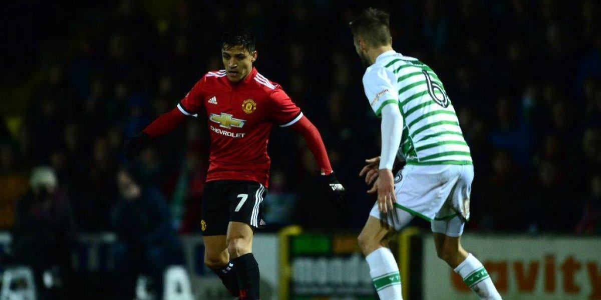 Minuto a minuto: Alexis debuta en el United como titular en la victoria ante el modesto Yeovil