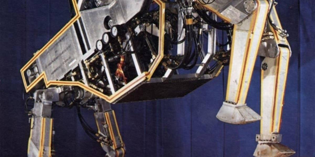 El Ejército estadounidense creó el AT-AT Walker antes que George Lucas
