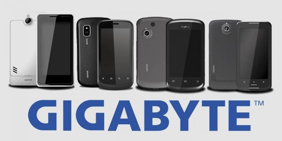 Gigabyte estrena 4 smartphones doble-SIM con Ice Cream Sandwich