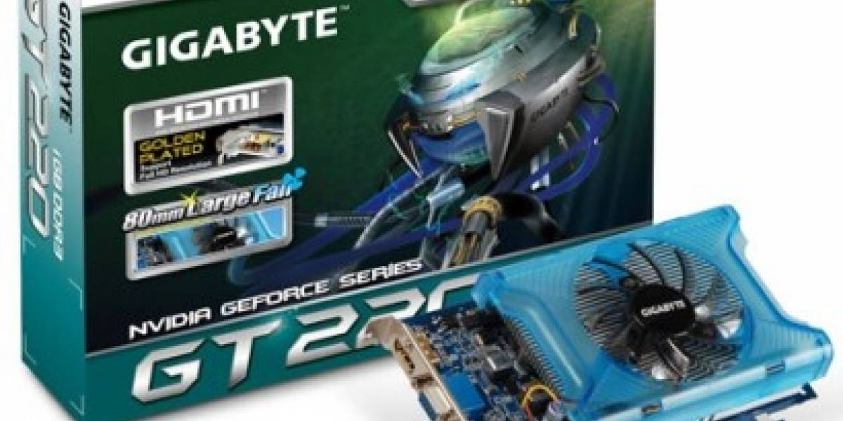 Gigabyte presenta Geforce GT 220
