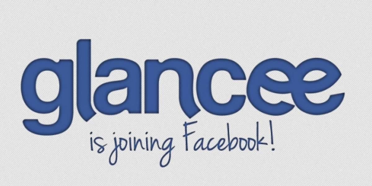 Facebook ahora compra Glancee