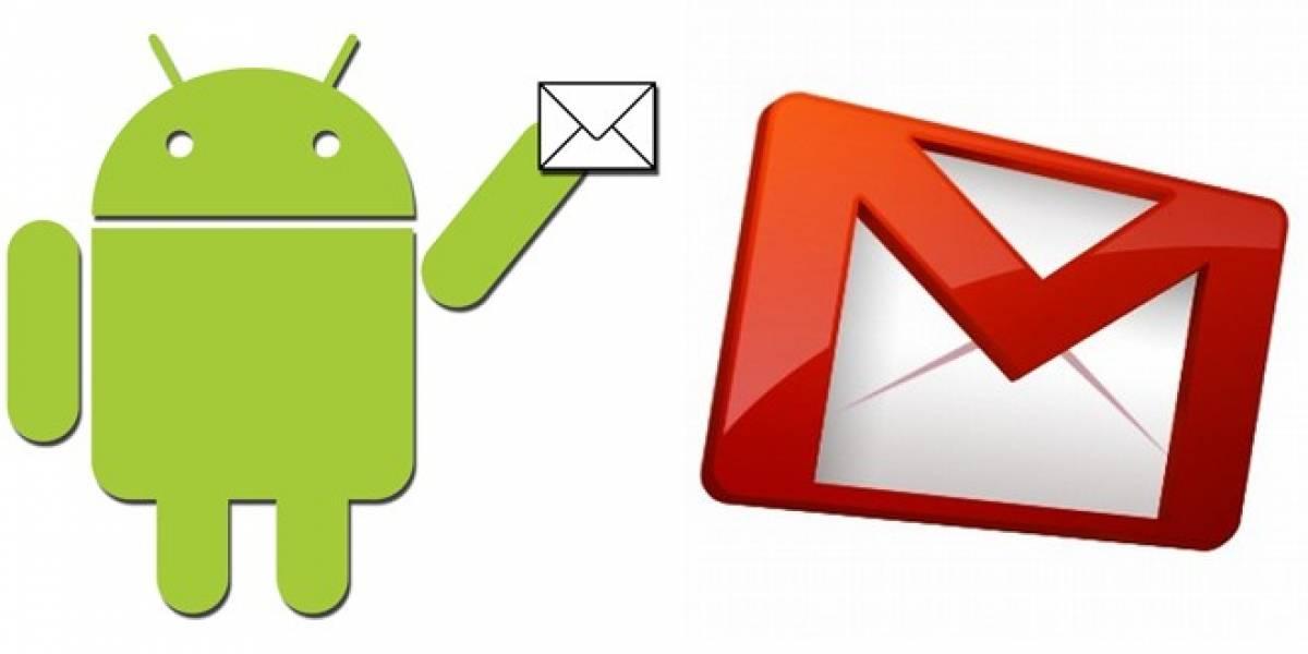 Aplicación de Gmail para Android se actualiza