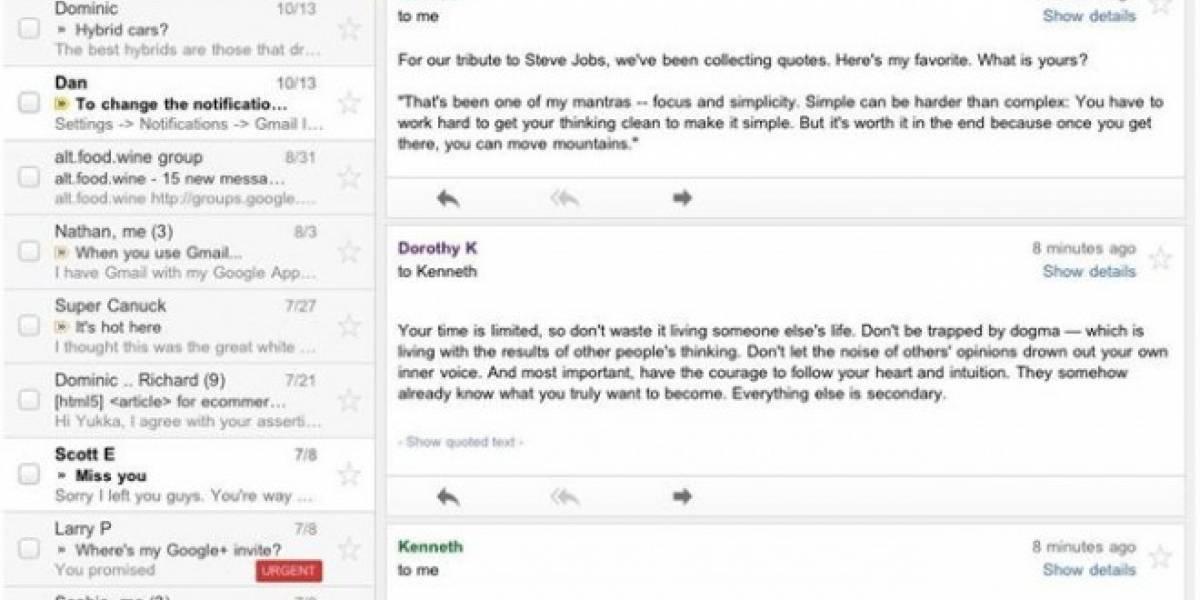 La app de Gmail para iOS ha vuelto al App Store
