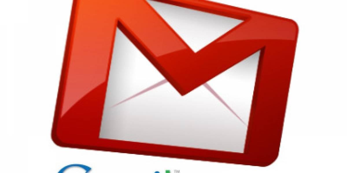Gmail prueba diseño de tres columnas con vista previa