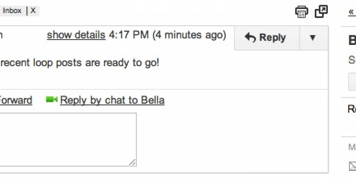 Las actualizaciones de Google+ llegan a la barra lateral de Gmail
