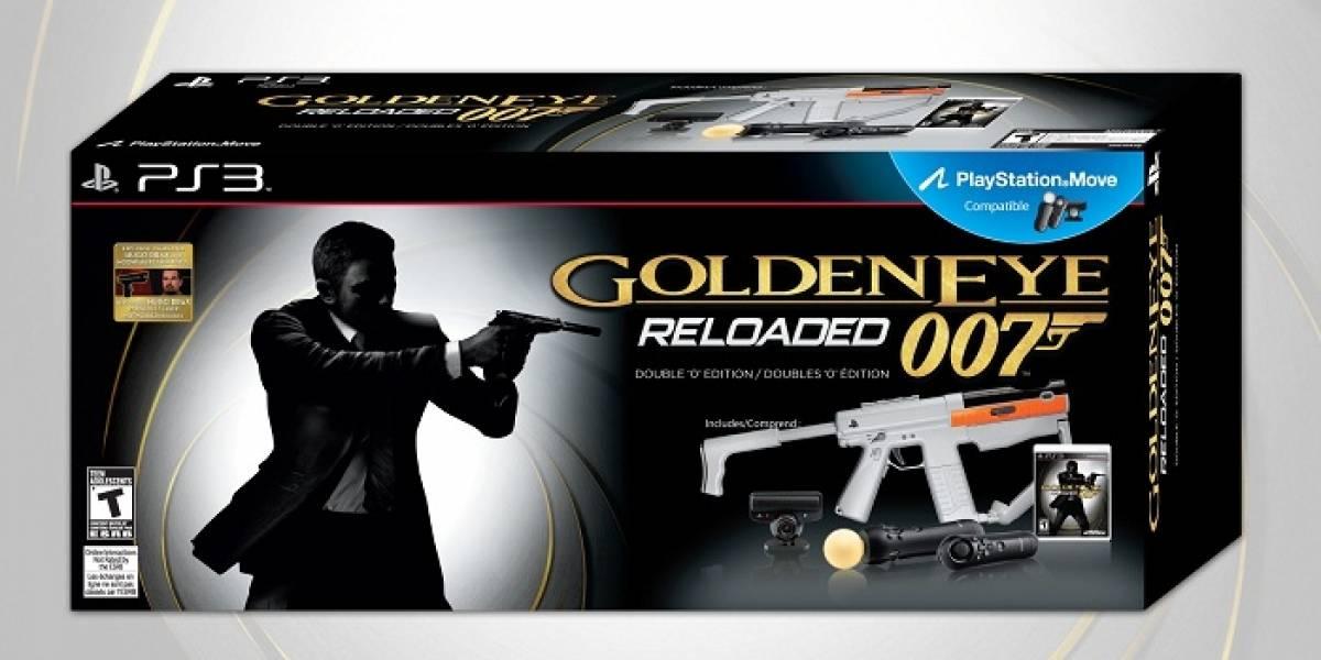 Esta es la edición especial de Goldeneye 007: Reloaded en Playstation 3