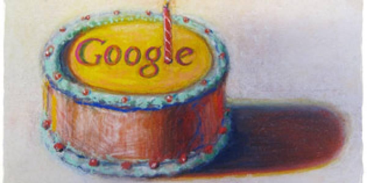 Google celebra su cumpleaños número 12