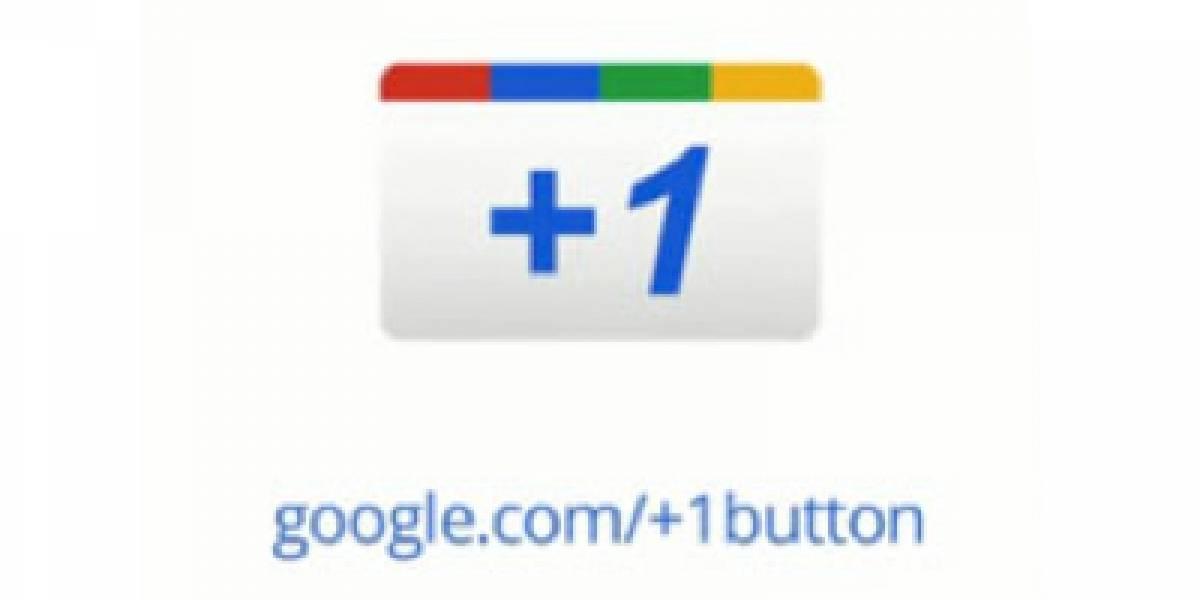 El botón +1 de Google ya está disponible