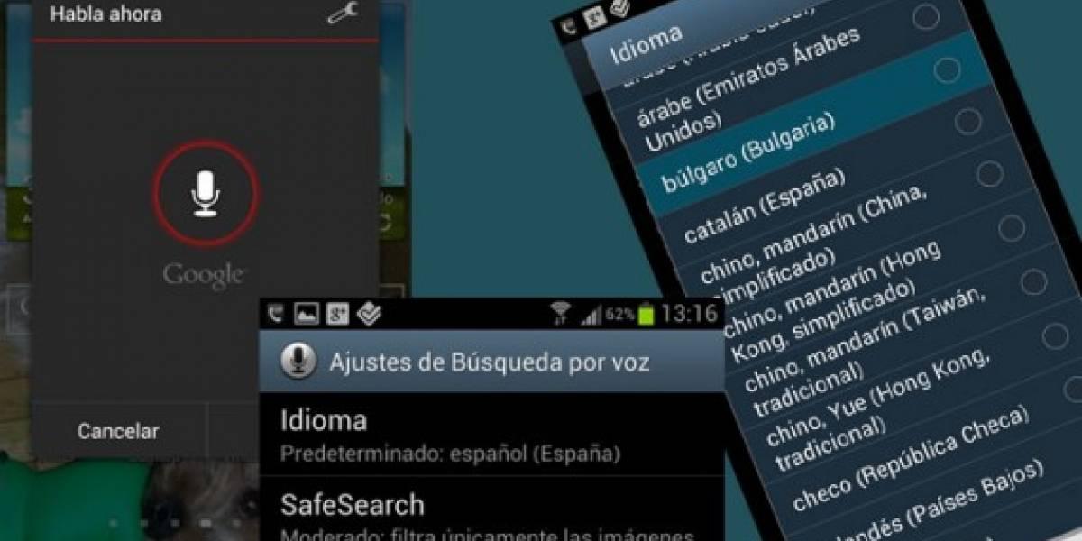 España: Google Voice Search aprende vasco, catalán y gallego