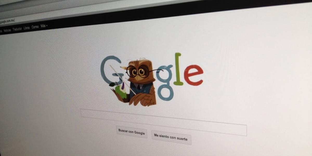 México: Google doodle por el día del maestro