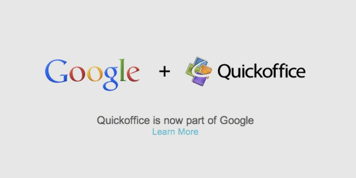 Google compra Quickoffice para lograr un Google Docs nativo