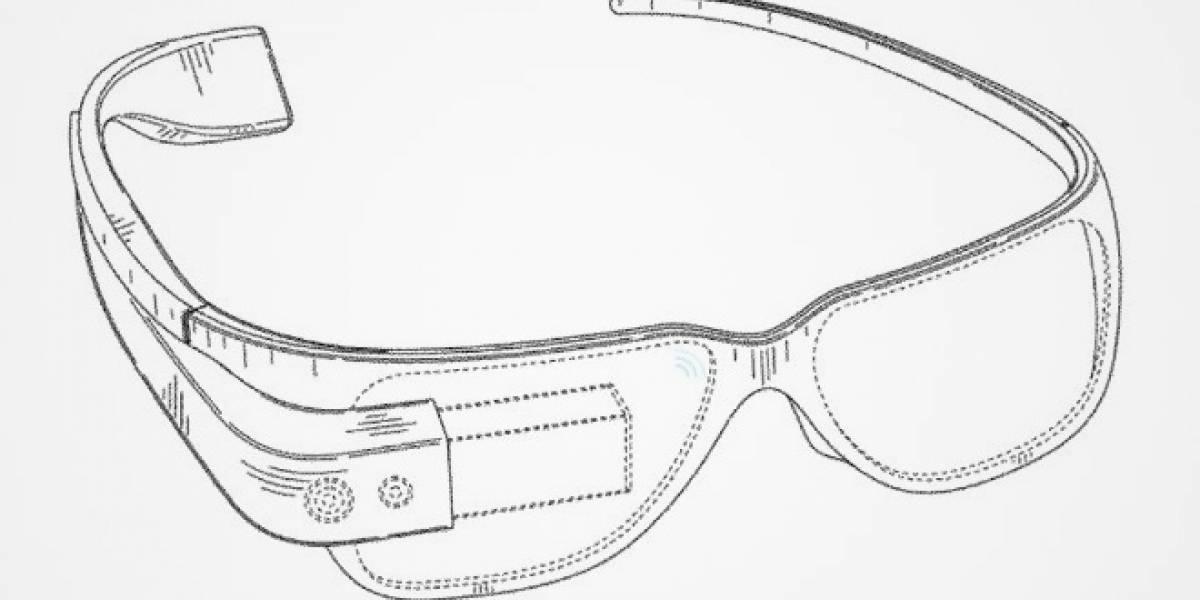 Google patenta el diseño de sus gafas de realidad aumentada