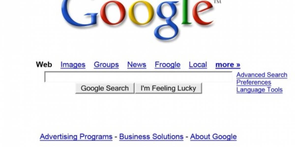 Google patenta su página de inicio
