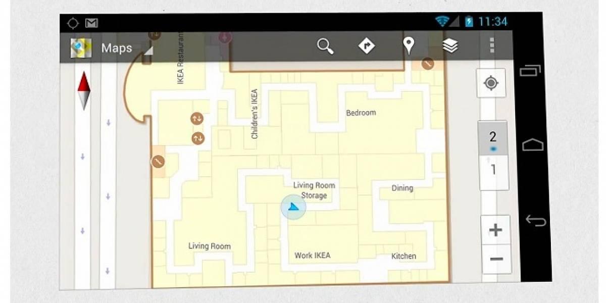 Nuevo Google Maps 6.0 para Android con localización en interiores