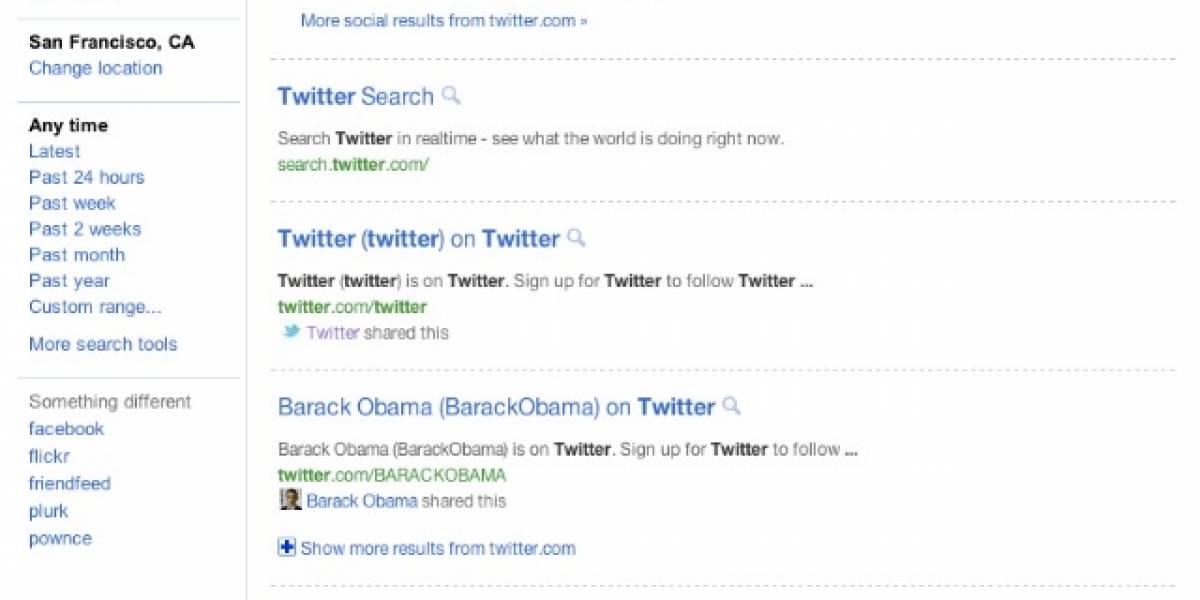 Google está probando nueva página de resultados en su buscador