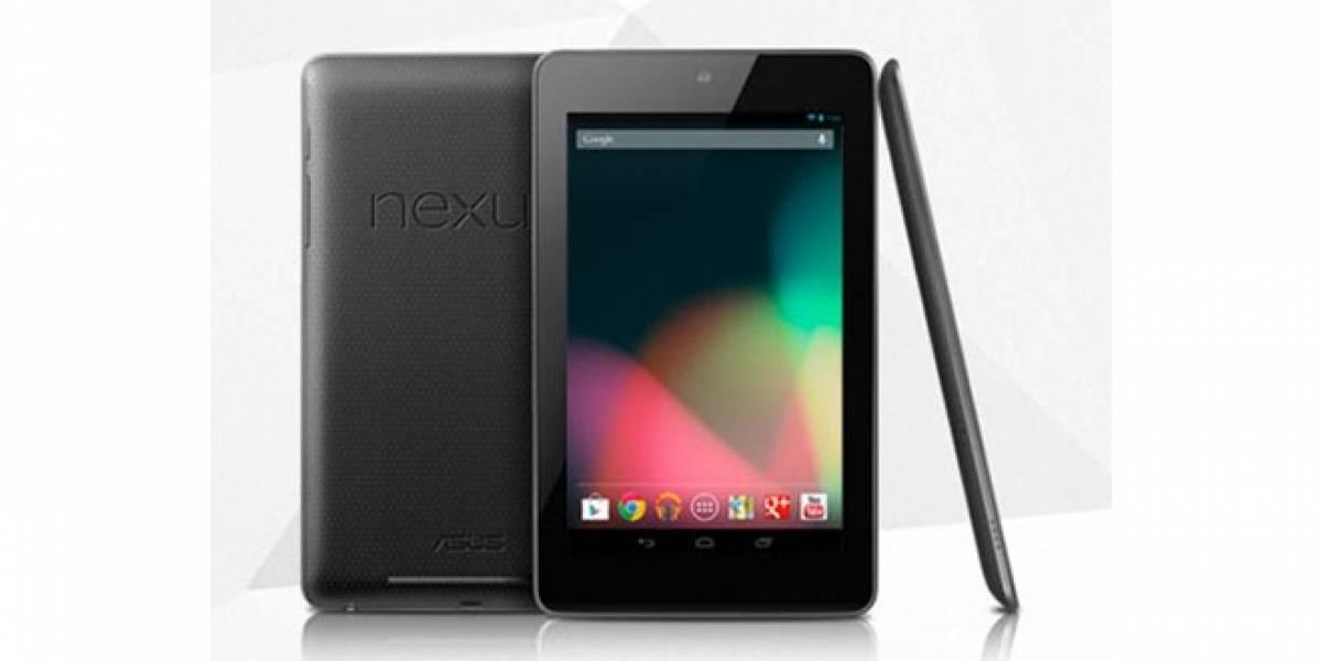 Google vendió prácticamente todas las unidades de Nexus 7 que puso a la venta