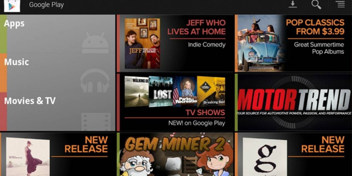 Google Play se integrará a Google TV en los próximos meses