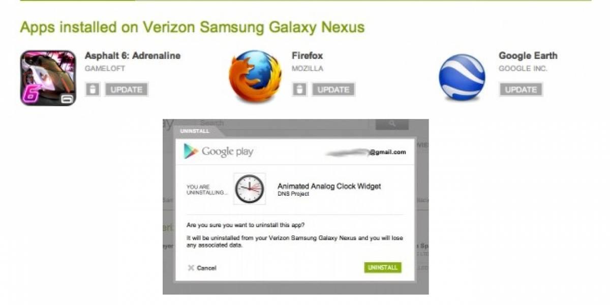 Pronto podrás actualizar o desinstalar apps de tu Android de manera remota
