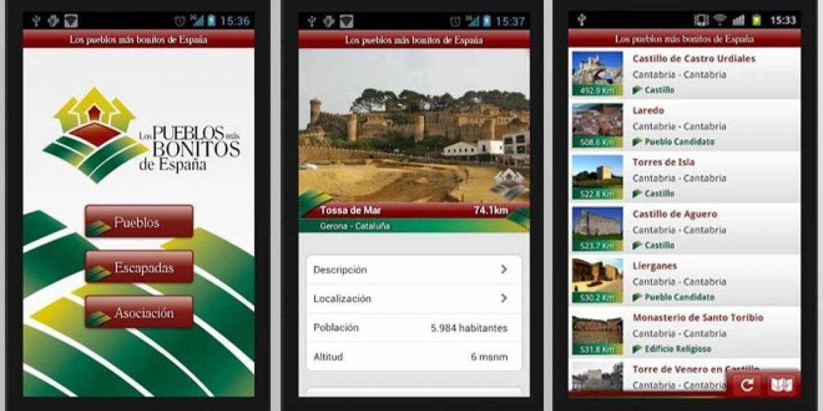 Una aplicación para que lleves contigo los pueblos más bonitos de España en el móvil