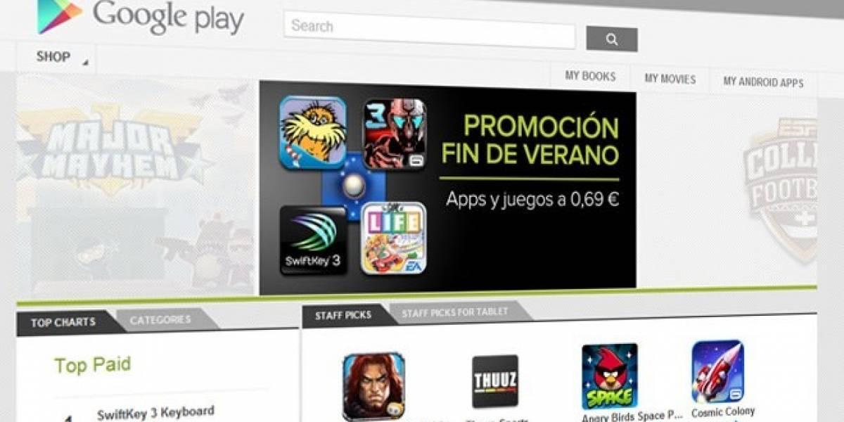 Google Play Store alcanzó las 700.000 aplicaciones disponibles