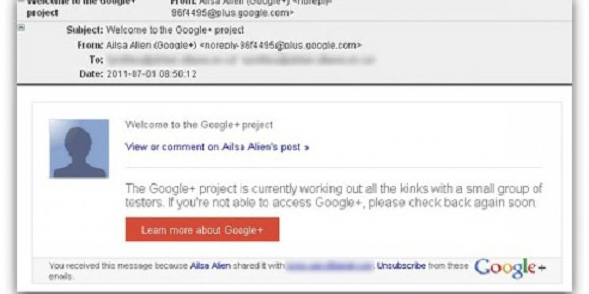 ¡Cuidado!: Aparecen las primeras estafas por phishing como invitaciones a Google+