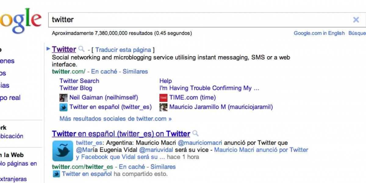 Las búsquedas sociales de Google ahora funcionan en Latinoamérica