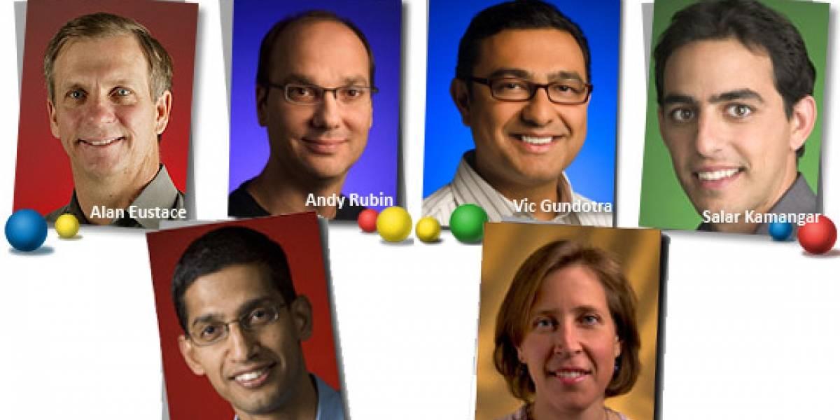 Los cambios de Larry Page en la plana mayor de Google