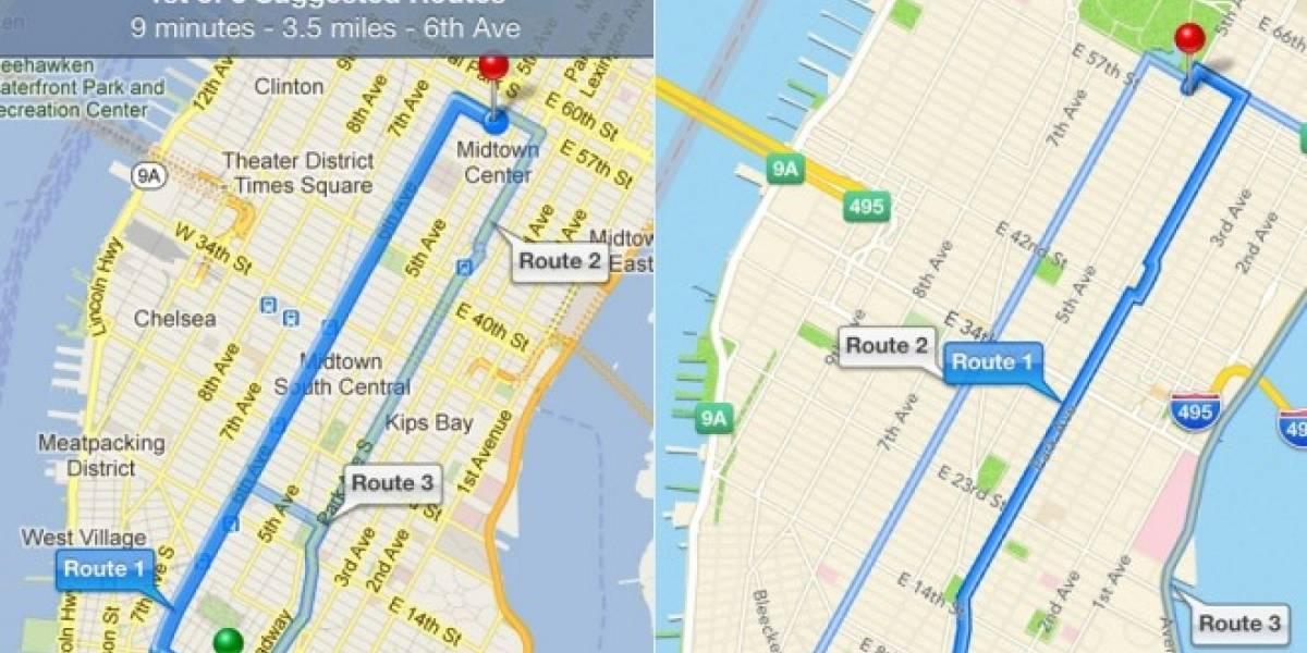 Google tendría lista su app de mapas para iOS