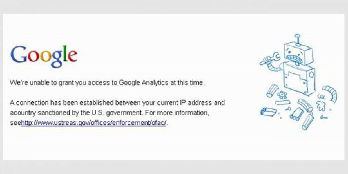 Google suspende Analytics en Cuba por bloqueo económico de Estados Unidos