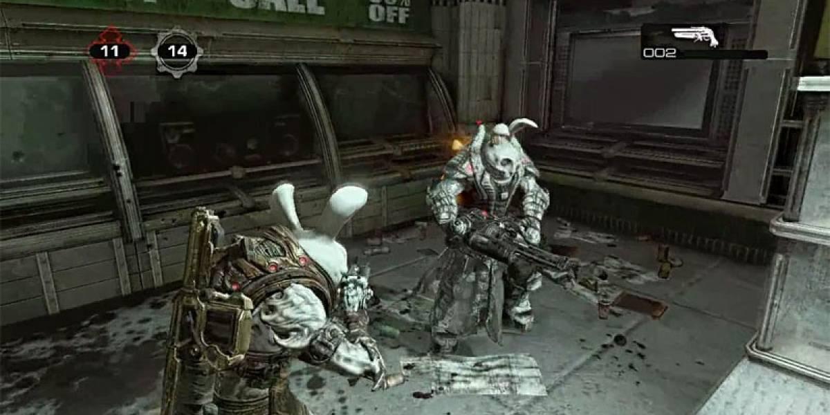 Conejos de Pascua en la beta de Gears of War 3