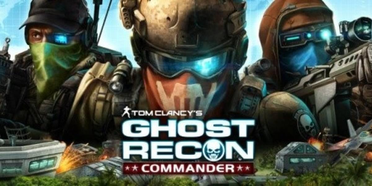 Ghost Recon Commander se prepara para asaltar Facebook
