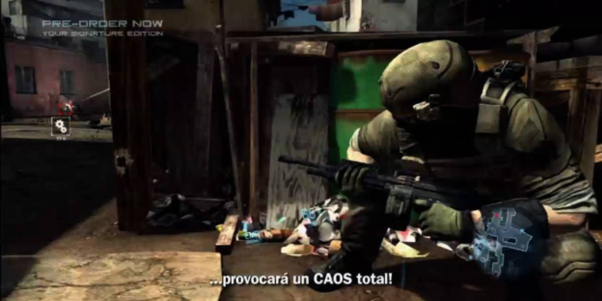 Video de Multijugador en Ghost Recon Future Soldier [gamescom 11]