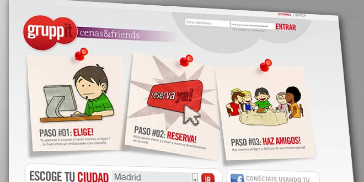 España: No cenes solo, tienes a Gruppit