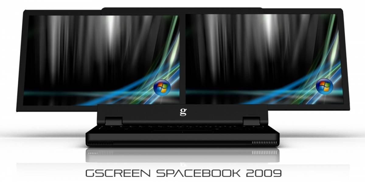 Spacebook, un estupendo equipo... ¿portátil?