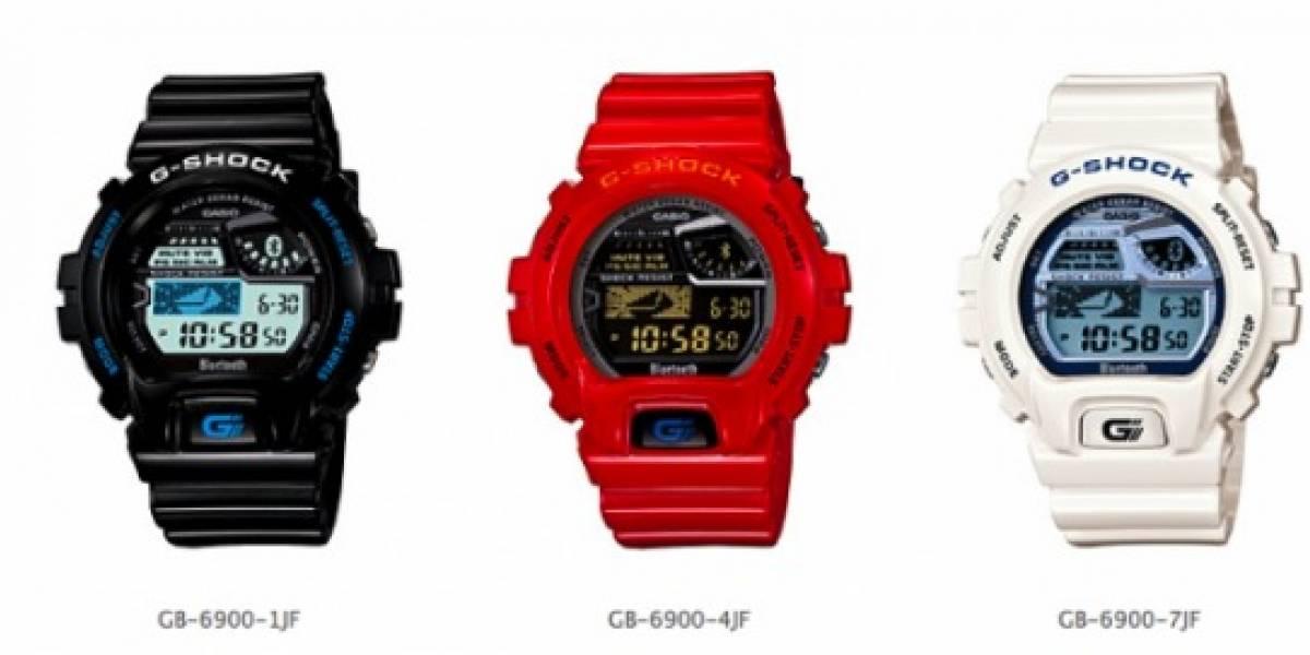 Casio planea lanzar un G-Shock con conexión Bluetooth