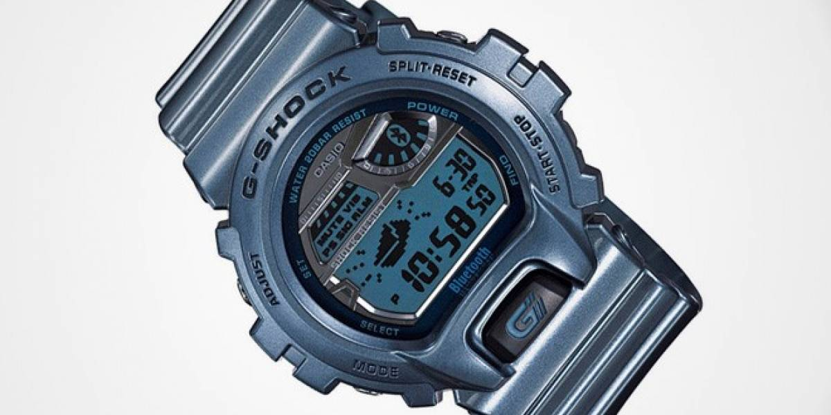 Casio renueva el reloj G-Shock para funcionar con el iPhone