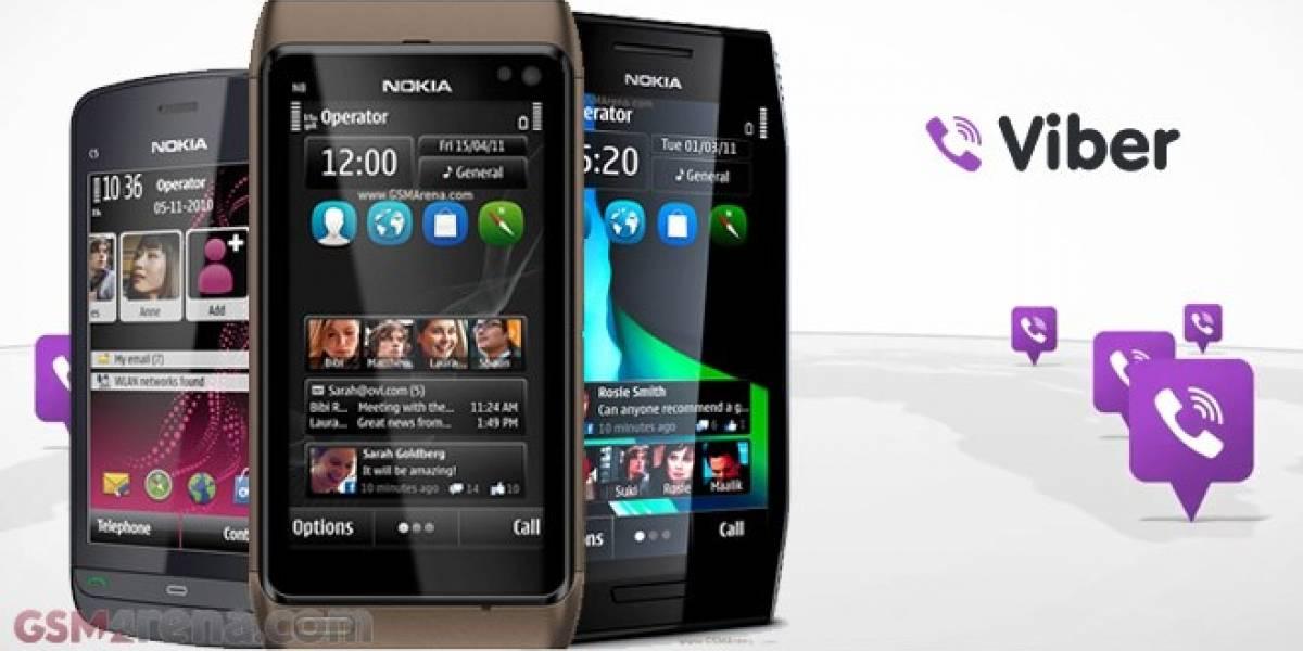 Viber llegará a Nokia OS en un futuro cercano