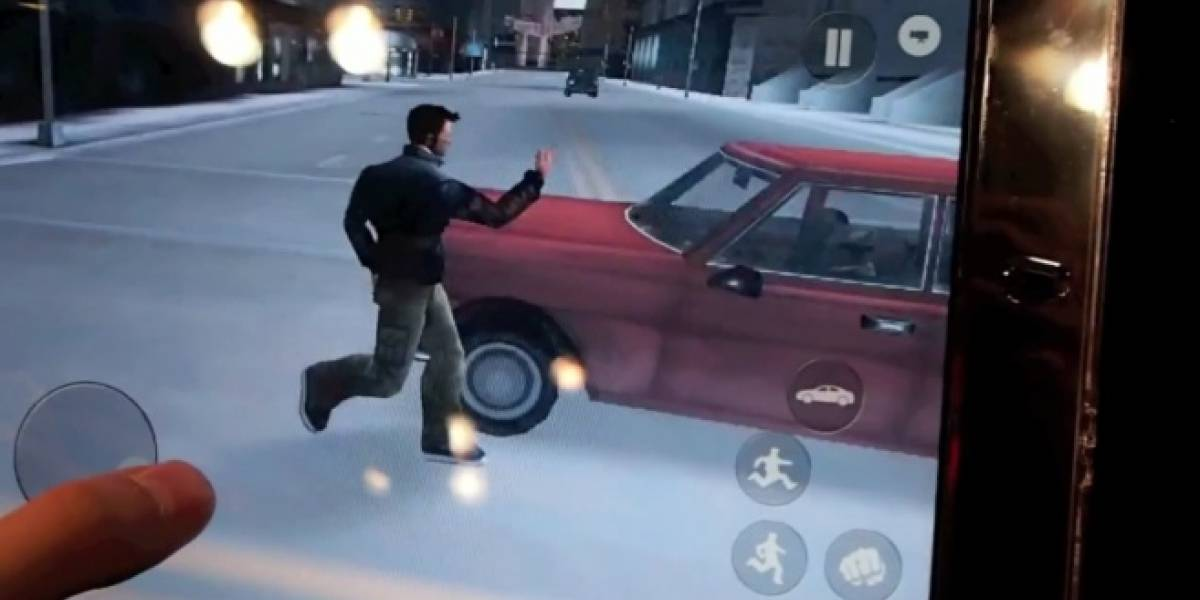 Así se ve Grand Theft Auto III en el iPad 2