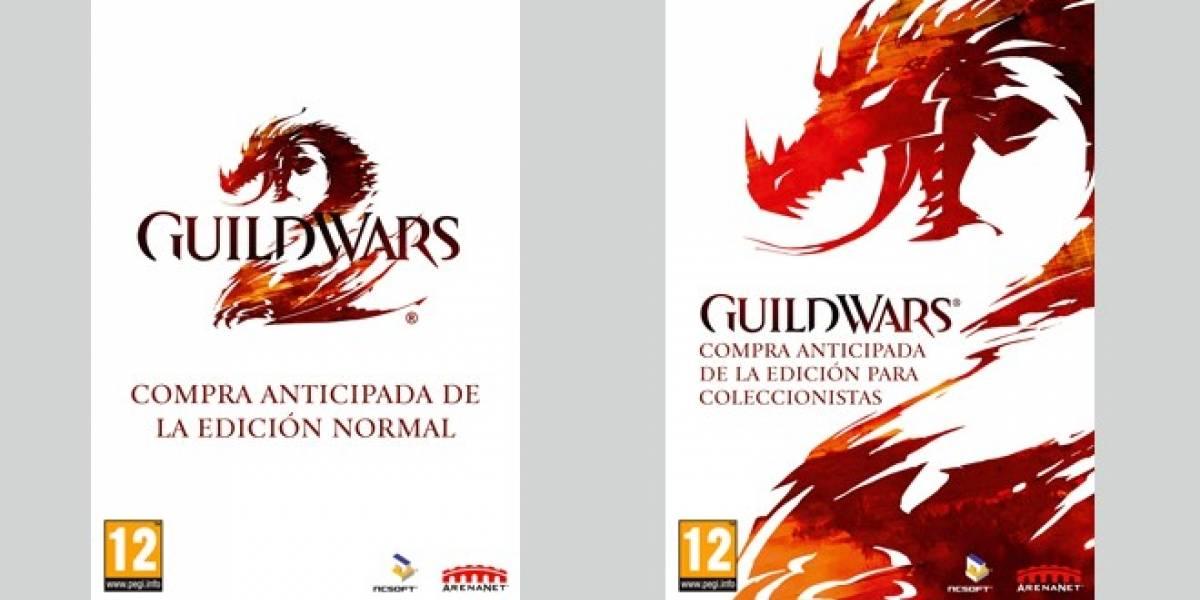 Ya puedes pre-comprar Guild Wars 2 y tener acceso a las sesiones beta